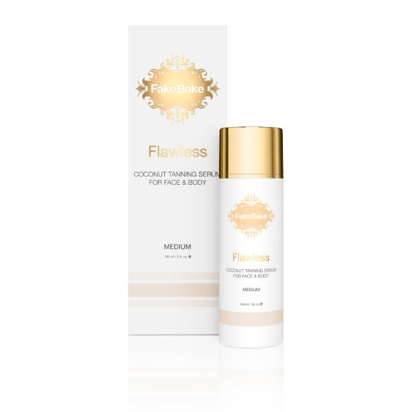 FakeBake Flawless Coconut Tanning Serum for Face and Body