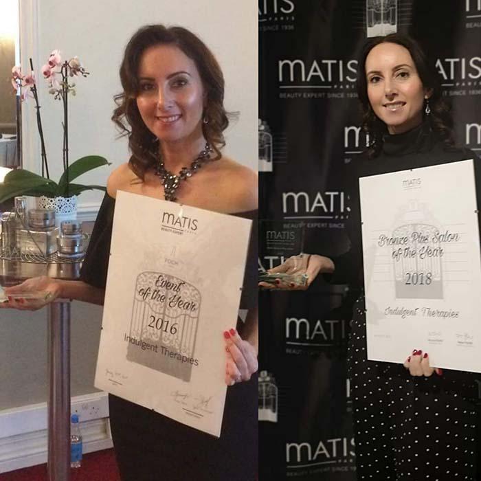 Matis Beauty Expert Award Winner