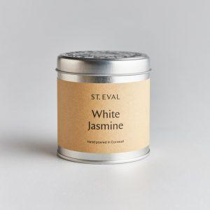 white jasmin tin